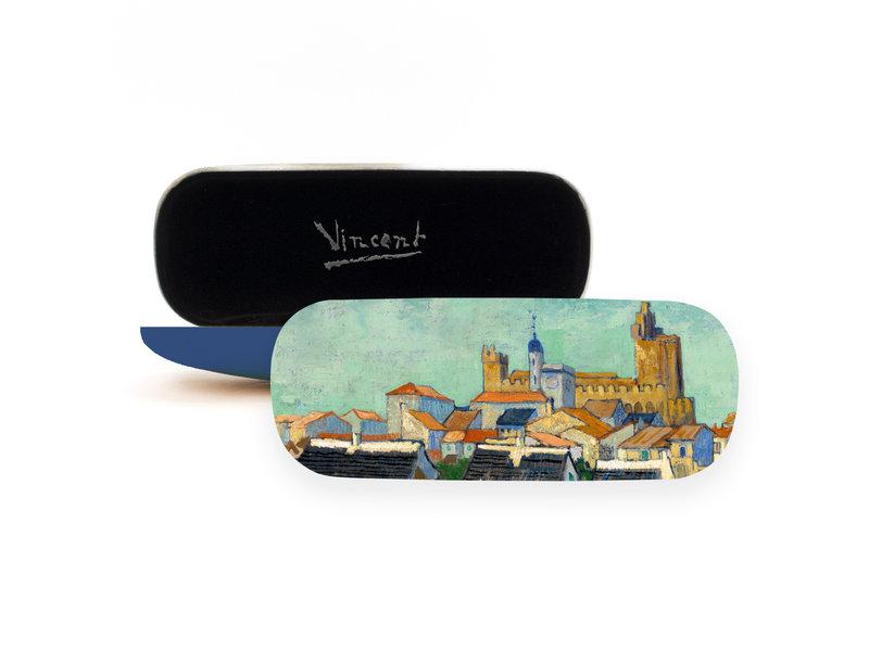 Étui à lunettes, Vue des Saintes-Maries-de-la-Mer, Van Gogh