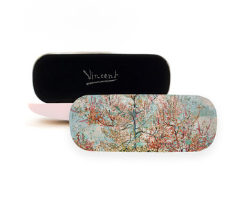 Brillenkoker,Roze perzikbomen, Vincent van Gogh