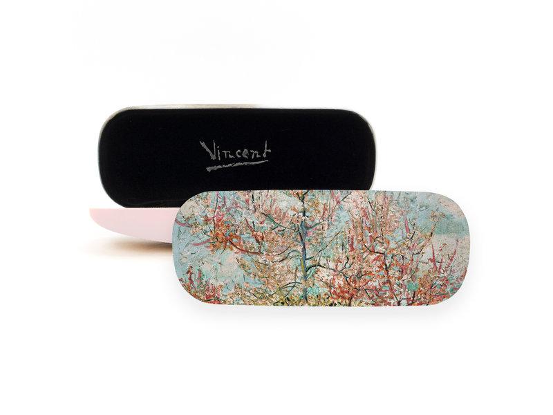 Étui à lunettes, Pêchers roses, Vincent van Gogh