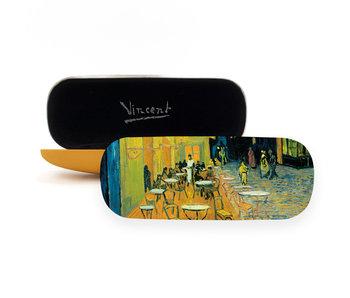 Brillenkoker,  Cafe terras bij nacht, Van Gogh