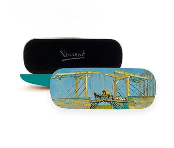 Brillenkoker, Brug bij Arles, Vincent van Gogh