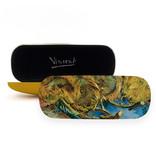 Funda de gafas, 4 girasoles descoloridos Van Gogh