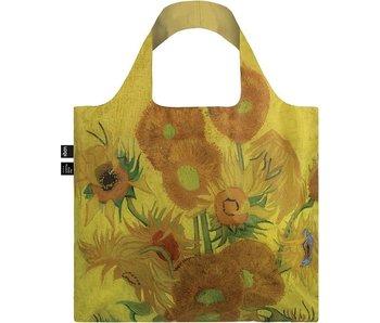 Compradora plegable, Van Gogh, Girasoles