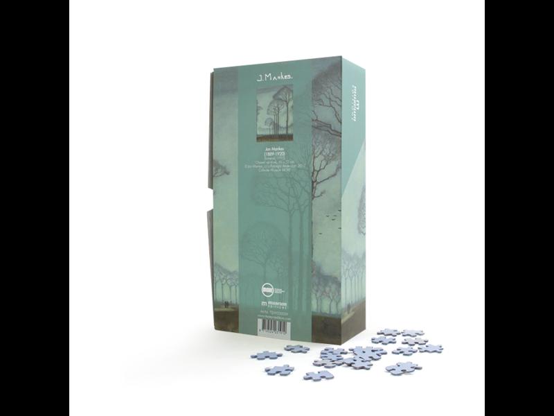 Puzzel, 1000 stukjes ,Jan Mankes, Bomenrij