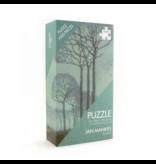 Puzzle, 1000 pièces, Jan Mankes, rangée d'arbres