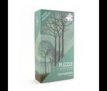 Puzzle, 1000 piezas, Jan Mankes, Fila de árboles