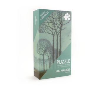 Puzzle, 1000 Teile, Jan Mankes, Baumreihe