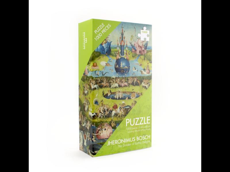 Puzzle, 1000 Teile, Jheronimus Bosch, Der Garten der Lüste