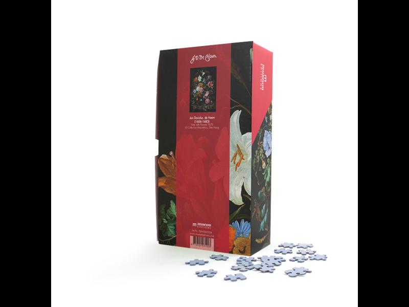 Puzzle, 1000 piezas, De Heem, Flores