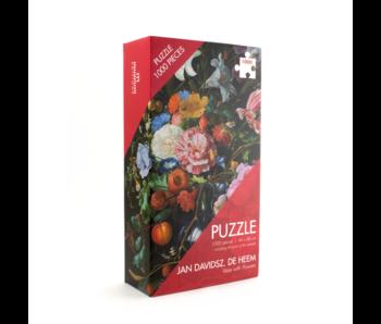 Puzzel, 1000 stukjes, De Heem, Bloemstilleven