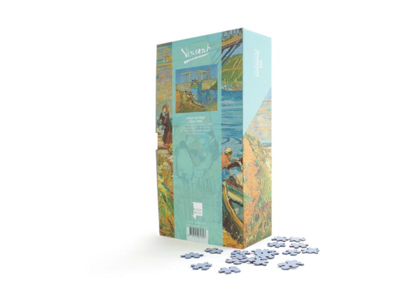Puzzel, 1000 stukjes, Brug bij Arles, Vincent van Gogh