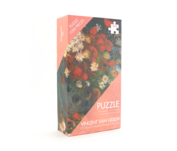 Puzzle, 1000 Teile, Van Gogh , Vase mit Blumen