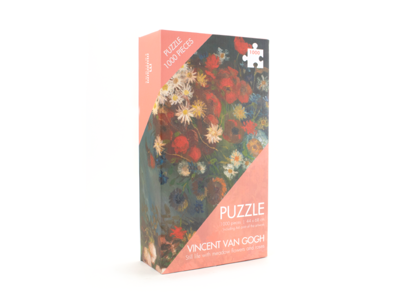 Puzzle, 1000 piezas, Van Gogh, Florero con Flores