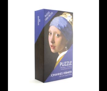 Puzzle, 1000 pièces, Vermeer, Fille à la boucle d'oreille en perle