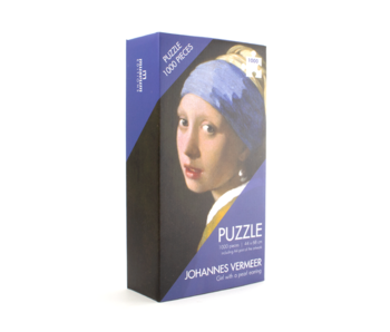 Puzzle, 1000 pieces, Vermeer, Girl with the Pearl Earring