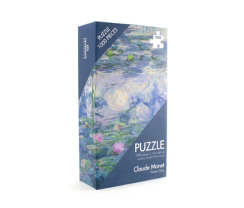 Puzzle, 1000 Teile, Monet Seerosen