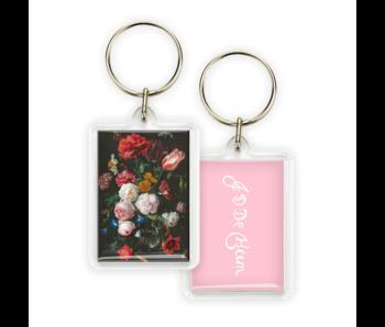 Schlüsselbund, Blumenstillleben, De Heem
