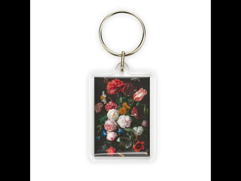Porte-clés, Nature morte aux fleurs, De Heem