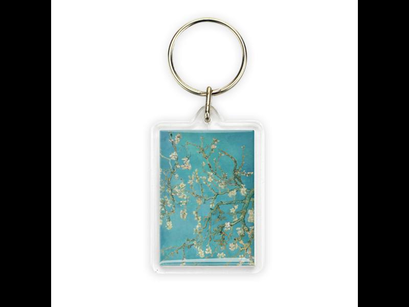 Llavero, flor de almendro, Van Gogh