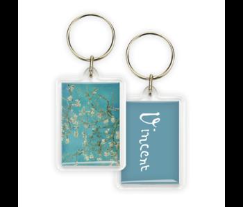 Porte-clés, fleur d'amandier, Van Gogh