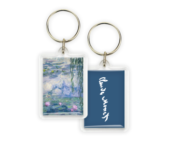 Keyring, Monet, Waterlilies