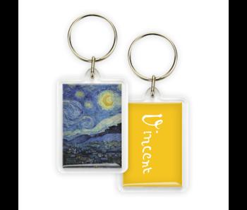 Keyring,  Starry Night, Vincent van Gogh