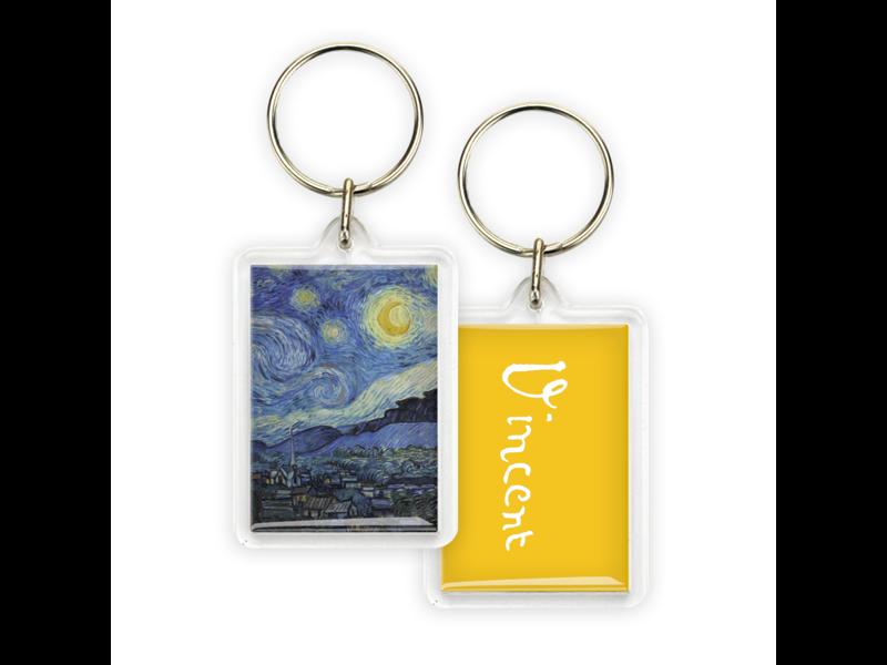 Llavero, Monet, Noche estrellada, Vincent van Gogh