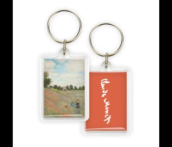 Porte-clés, Monet, Champ de coquelicots