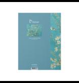 Softcover kunst schetsboek,,  Vincent van Gogh,  Amandelbloesem