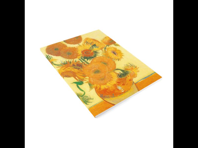 Artist Journal, Vincent van Gogh, Sunflowers