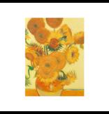 Softcover kunst schetsboek,,  Zonnebloemen, Vincent van Gogh