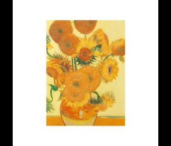 Cahier d'artiste, Tournesols, Vincent van Gogh