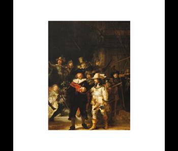Artist Journal,  Nachtwacht, Rembrandt