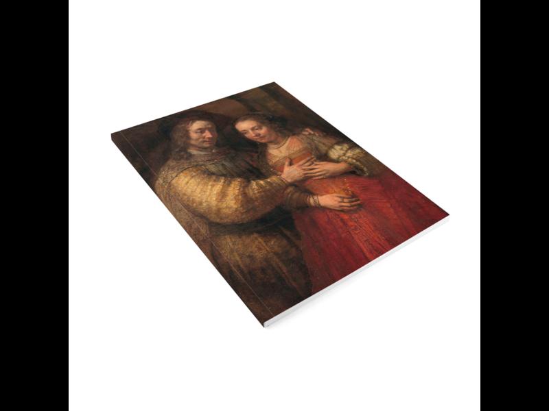 Softcover kunst schetsboek, Joods Bruidje, Rembrandt