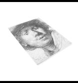Künstlerjournal, Rembrandt, neugieriges Gesicht