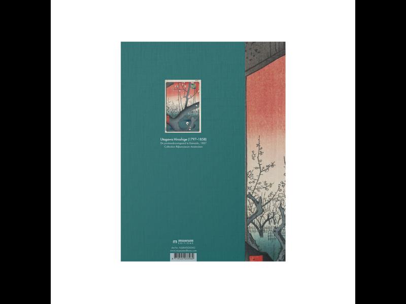 Softcover kunst schetsboek, De pruimenboomgaard te Kameido