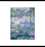 Softcover Kunst Skizzenbuch,  Monet, Seerosen