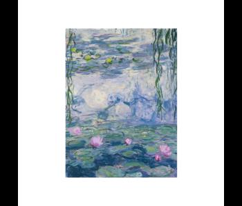 Cahier d'artiste,  Monet, Nympheas