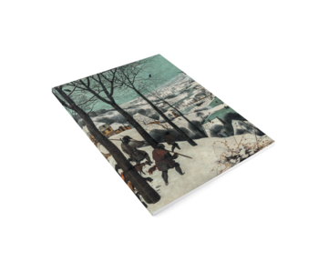 Cahier d'artiste, Brueghel, chasseurs dans la neige