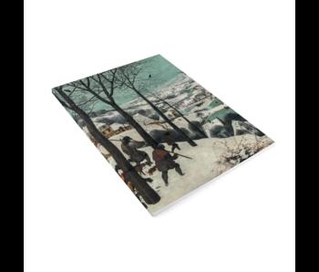 Künstlerjournal, Brueghel, Jäger im Schnee