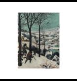 Carnet de croquis à couverture souple, Brueghel, chasseurs dans la neige
