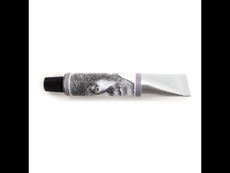 Verftube pen, Zelfportet Verbaasde blik, Rembrandt