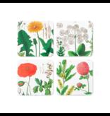 Coasters, set of 4, Hortus Botanicus
