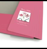 Porte-documents avec bande élastique A4, Merian, trois tulipes