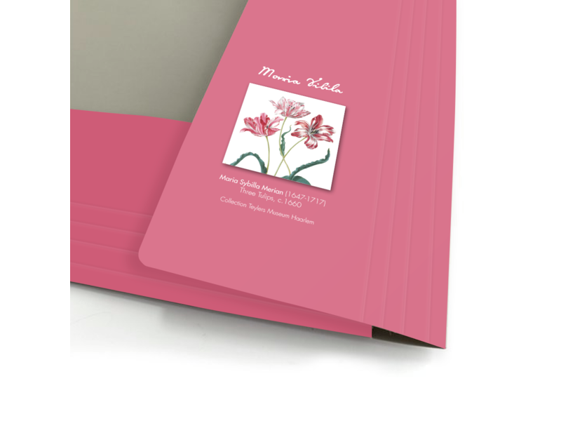 Documentenmap met elastiekje A4, Merian, Drie Tulpen