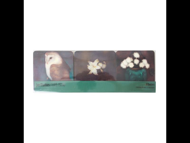 Dessous de verre, chefs-d'œuvre, Jan Mankes
