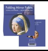 Klapspiegeltje microfiber, Vermeer, Meisje met de Parel