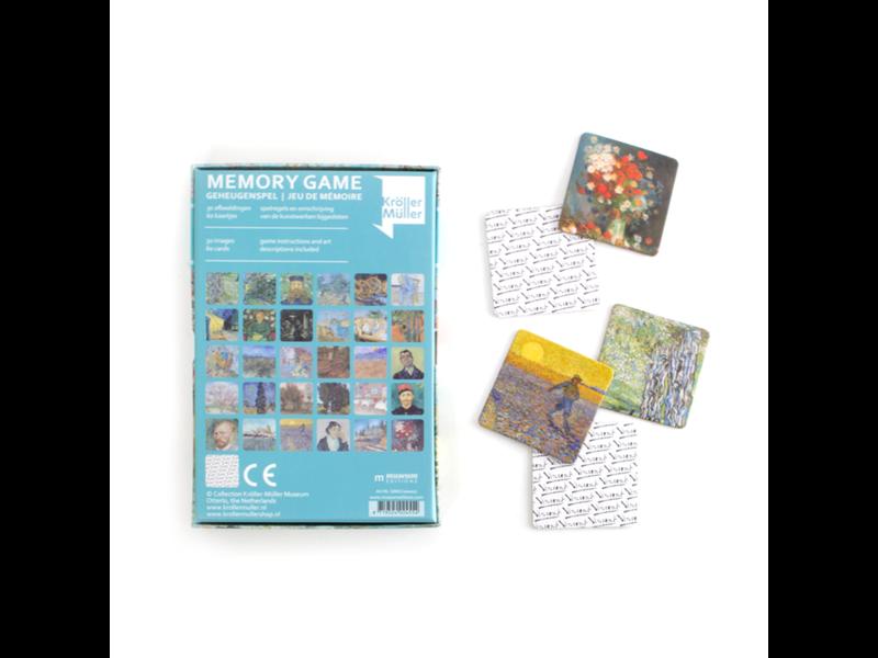 Memory Game, Van Gogh Masterpieces