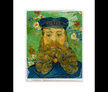 Lens cloth, 15x18 cm, Portrait of Joseph Roulin, Van Gogh