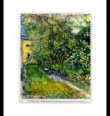 Lens cloth , Garden in Saint-Remy, Vincent van Gogh